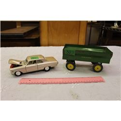 1964 Ford Fairlane Thunderbolt 1/24 Scale Model with John Deer Model