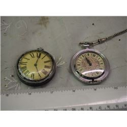 Pair Of Pocket Watches