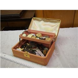 Jewellery Box Full Of Vintage Watches
