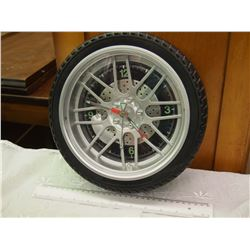 Working Tire Clock