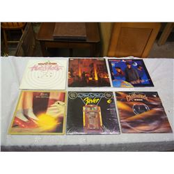 Lot Of Rock Records (Trooper, Abba, Thompson)