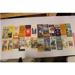 Lot of Advertising Maps