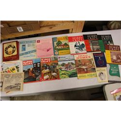 Lot of Vintage Magazines, Paper Related, Etc