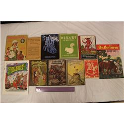 Lot of Assorted Vintage Books
