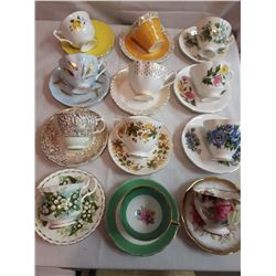 Cup And Saucer Sets (12)