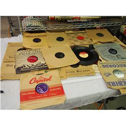 Lot Of Vintage Phonograph Records