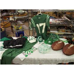 Lot Of Saskatchewan Roughriders Memorabilia
