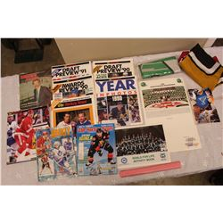 Lot of Hockey & Football Related (The Hockey News, Roughriders, Etc)