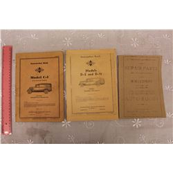 1930s International Harvester Truck Owners Manuals