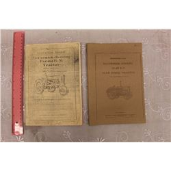 McCormick Deering Model 10-20 & Farmall-M Tractor Owners Manuals