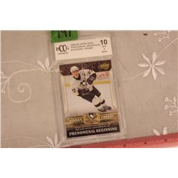 Sidney Crosby, Card #15, 2005-06 Upper Deck Phenomenal Beginnings