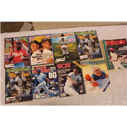 Lot of Baseball Related Programs, Magazines