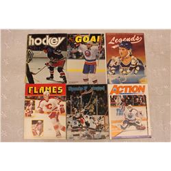 Lot of Hockey Related Programs, Magazines