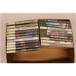 Lot of Video Games : XBOX & XBOX 360