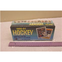 Sealed 1990-91 OPC NHL Hockey Card Set (528 Cards)