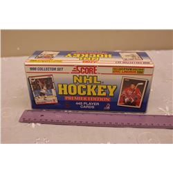 Sealed 1990 Score NHL Hockey Card Set, Premier Edition (445 Player Cards)