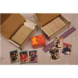 NHL Card Sets(3):1989-90 OPC, 1990-91 Pro-Set & 1990 Score Rookie and Traded Cards
