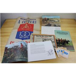 RCMP 1973 Lot: Calendar, Books& Newspaper