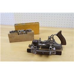 Stanley 45 Sweetheart Combination Wood Plane w/Cutters