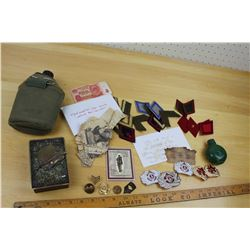 Lot of Vintage Military Related & Misc