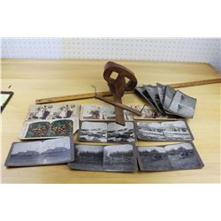 Antique Stereoscope and Slides (14)