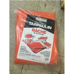 Never Used 30 x 20ft Home Hardware Tarp