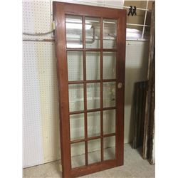 "16 Pane Window Door (32""x 76"")"