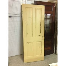 "Antique Door 29.5"" x 77"""