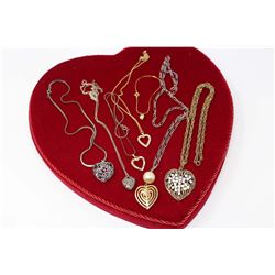 """Sweetheart Special"" Heart Jewellery"