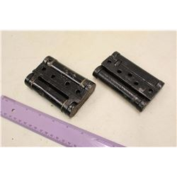 Antique Saloon Door Hinges (2)