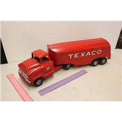 Vintage Metal Texaco Truck & Trailer (Buddy L)