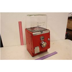 Vintage Bubble Gum Machine (Takes Nickels, No Key)