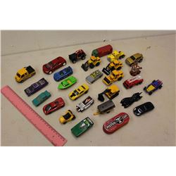 Lot of Toy Cars (Dinky Toys, Hotwheels, Etc)