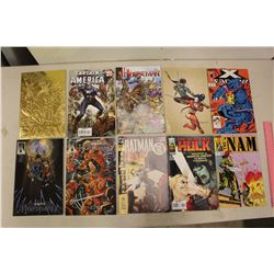 Lot of Assorted Comic Books (10)