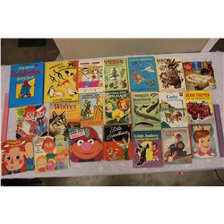 Lot of Vintage Children Books (The Raggedy Ann, Billy Boy, Sesame Street, Etc)