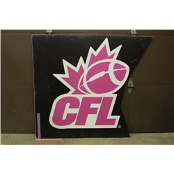 2016 CFL Sideline Advertising Sign (4ft x 4.5ft)