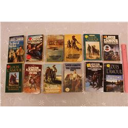 Louis L'Amour Books (12)