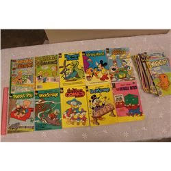 Lot of 1970s-80s Comics (Walt Disney, Gold Key, Richie Rich Diamonds, Etc)