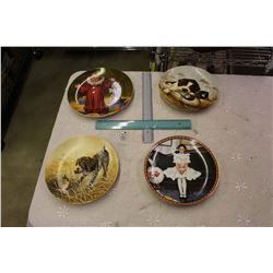 Lot Of Collector Plates (4)