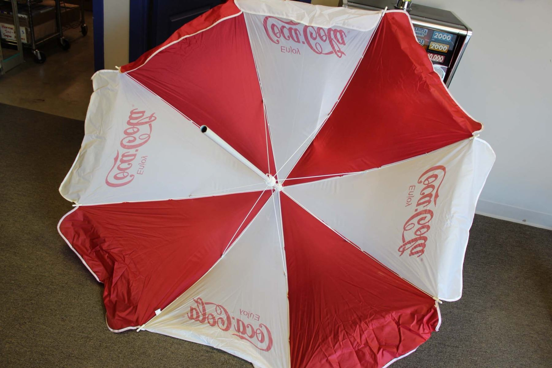Image 3 Vintage Coca Cola Patio Umbrella