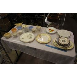 Lot Of Assorted Vintage Dishware