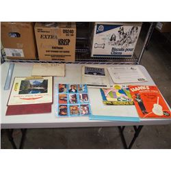 Lot Of Misc. Paper Related (Soil Maps, Calendar, Advertisement, Partridge Family Cards, Etc)