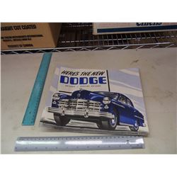 Dodge Advertising Brochure