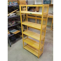 "Wooden Shelf 28""x12""x62"""