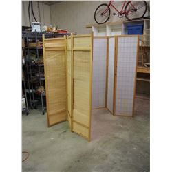 "Wooden Dividers (2) (Approx 53""x70"" Full Extended Each)"