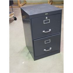 "Sears Two Drawer Metal Filing Cabinet 18""x18""x28"""