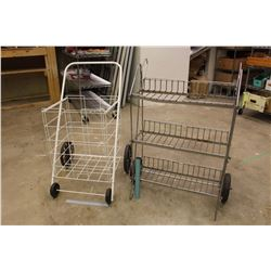 Wheeled Display Racks (2)
