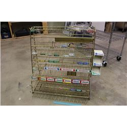 Metal Gum Display Rack