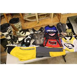 Lot of Dirt Biking Gear & Equipment (Youth Sizes)(See Photos for Sizes)