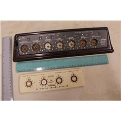 """Antique """"The Lightning Adding Machine"""" Dial-A-Matic"""